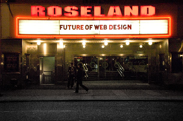 Roseland Ballroom: Future of Web Design