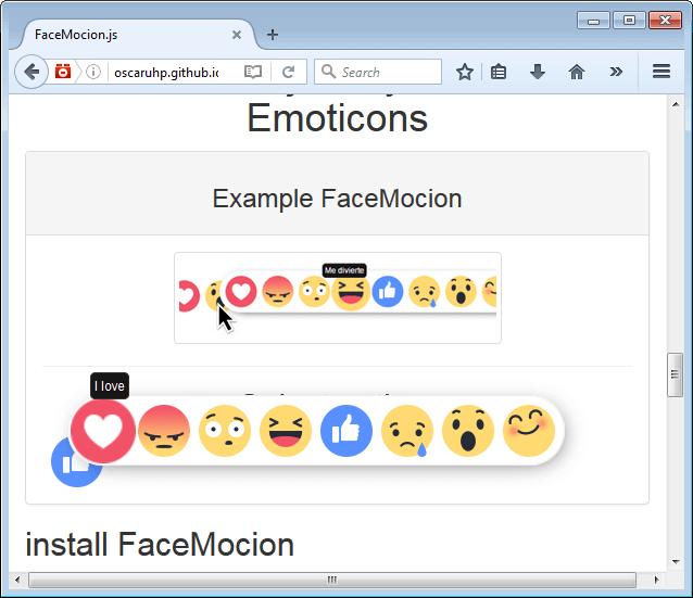 FaceMocion