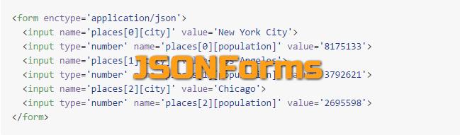 JSONForms