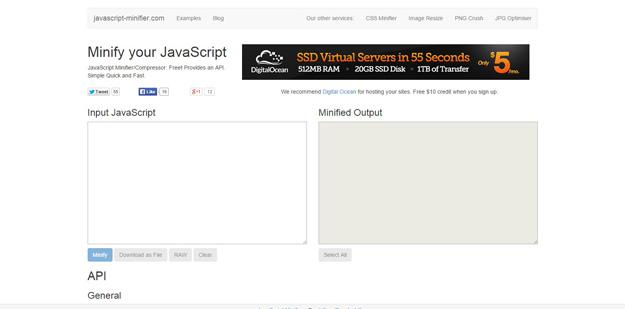 JavaScript-Minifier