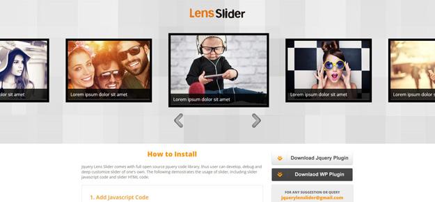 Jquery Lens Slider