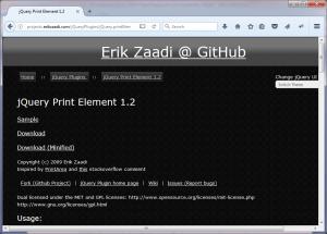 Print Element