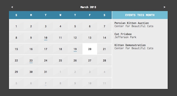 14 Top Calendar and Date Picker jQuery Plugins | Learning jQuery