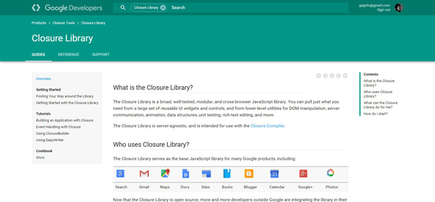 closure library