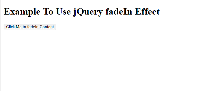 What Are jQuery Effects?