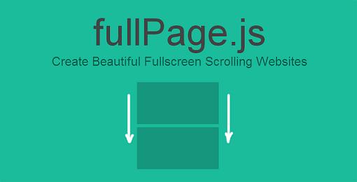 fullPage js