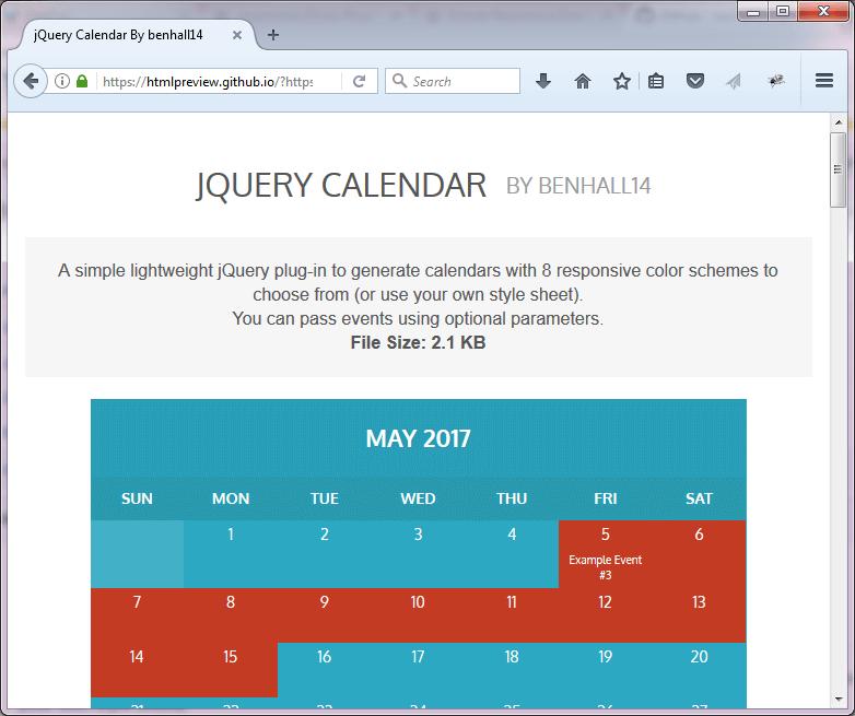 Year Calendar Jquery Plugin : New jquery plugins for responsive website jqueryhouse