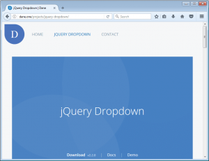 jQuery Dropdown