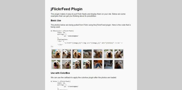 jflickfeed-plugin