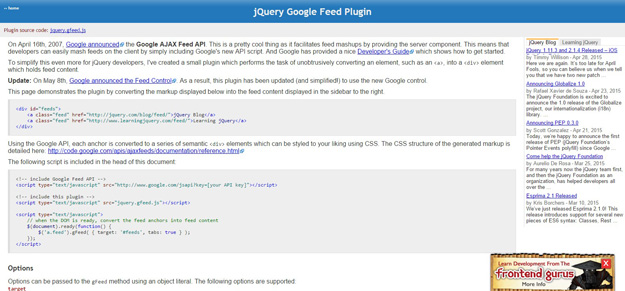 jquery-google-feed