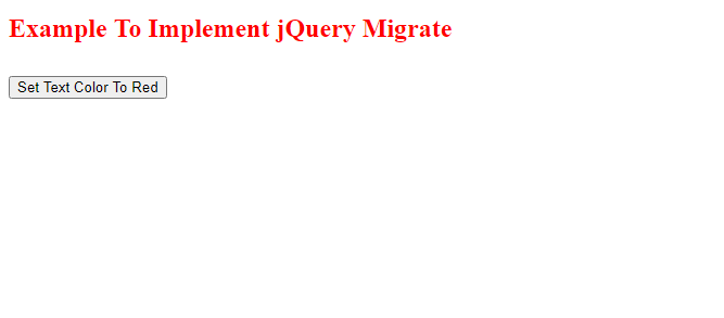 What Is jQuery Migrate?