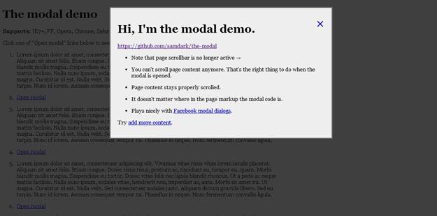 the-modal