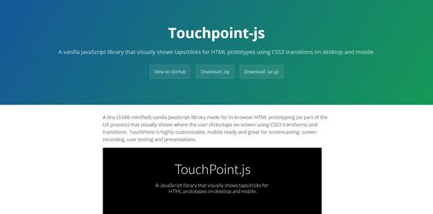 touchpointjs